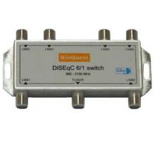 DiSEqC 1.1, свич 6х1 WinQuest GD-61A